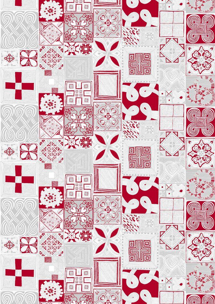 Sydäntalvi (red / silver) - By Lauri Tähkä Heartdesign