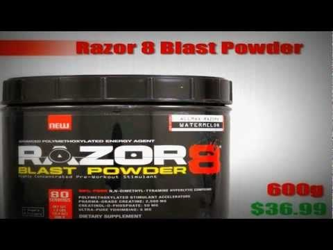 Top 10 Pre-Workout Supplements 2013