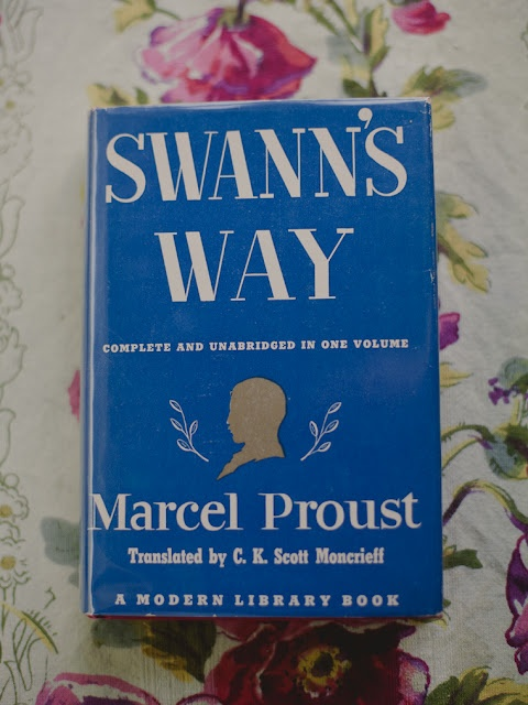 // Swann's Way by Marcel Proust / I have this exact copy