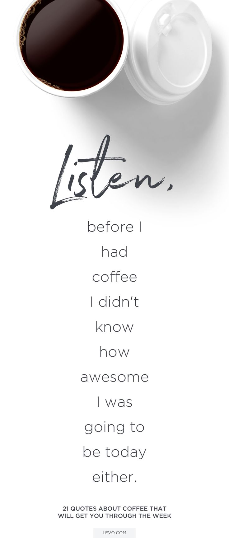Early morning coffee thoughts for all you coffee lovers.