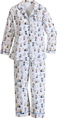 Snoopy & Classic Peanuts Pajamas at The Vermont Country Store