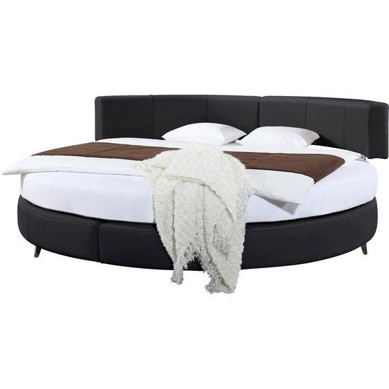 Boxspringbett Schwarz 240x240cm H2 Rebecca Ada Premium In 2020 Bed Outdoor Furniture Furniture