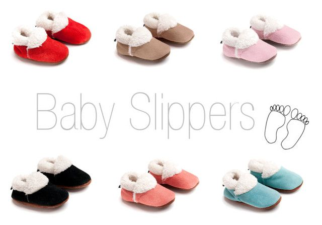 OUCH Baby Slippers