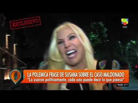Susana Giménez habló con Intrusos tras su polémica frase sobre Maldonado