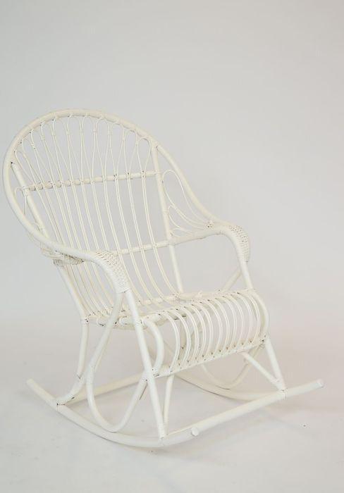 Lumikenkä-tuoli, valkoinen