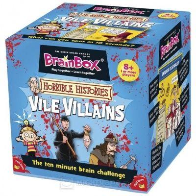 Brainbox Halloween, memoriza los villanos más aterradores de la historia...Basado en hechos reales ;)
