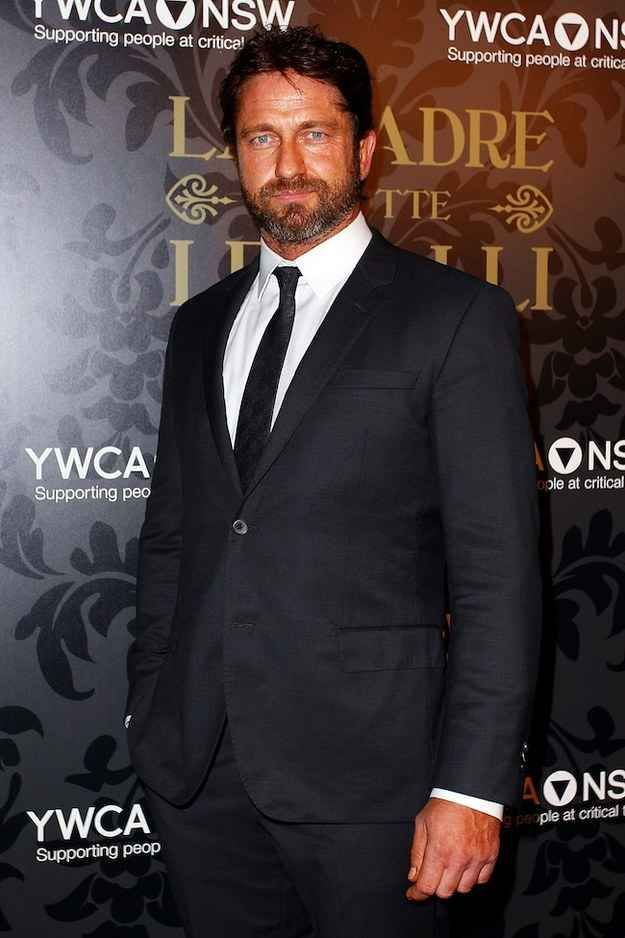 Gerard Butler #1 | The Official Ranking Of The 21 Hottest Scottish Men In Hollywood