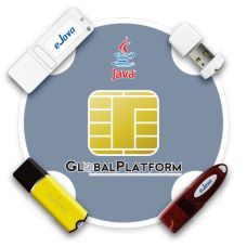 eJava Token este un token de tip USB Key Java card si este conform specificatiilor Global Platform si Java Card. Incorporat in masina virtuala Java Card, suporta multiple aplicatii si le poate descarca in acelasi timp.