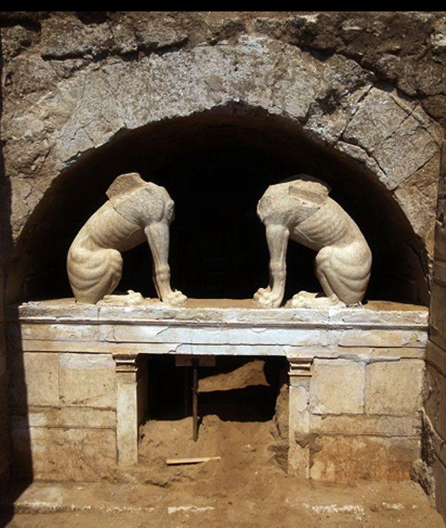 Αμφίπολη, Τύμβος Κάστα - Ancient Amfipolis, Kasta Tumulus
