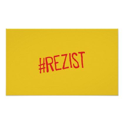 rezist romania political slogan resist protest sym poster - decor gifts diy home & living cyo giftidea