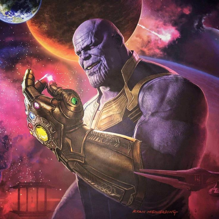 Thanos Wallpaper by 3a Free on ZEDGE