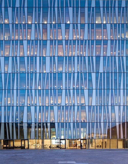 University of Aberdeen Library by Schmit  Hammer Lassen Architects