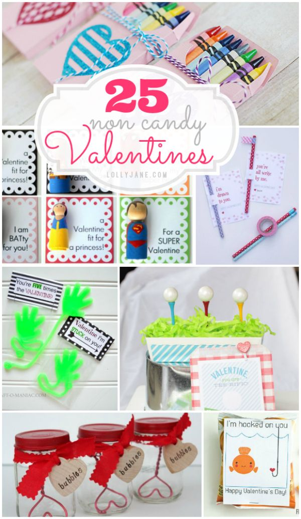 25 non-candy Valentines