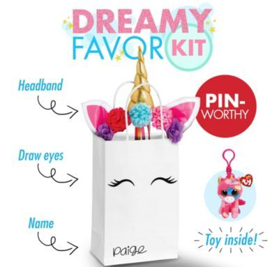 Shop For Dreamy Unicorn Favor Kit And Other Party Supplies Online At PartyCity Save With City Coupons Specials