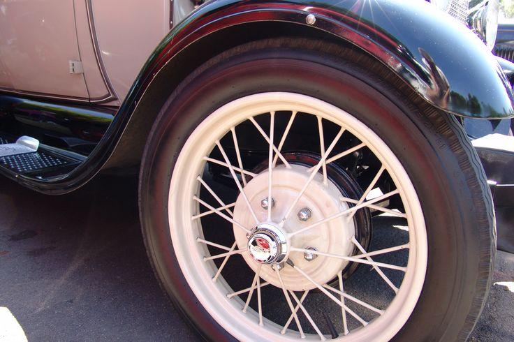 Wire wheels on a mod