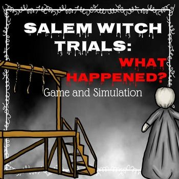 *** Click here to see a video of this product!Truly get kids excited about the Salem Witch Trials by having them take part in a digital simulation where they get to find out why men and women were accused of witchcraft and what happened to the people that were accused.Included you will find:A 20 page interactive presentation in PowerPoint and Google DriveFull directions and lesson plansPaper resources for the simulationGuided Note Taking ActivityInvestigation for after the…