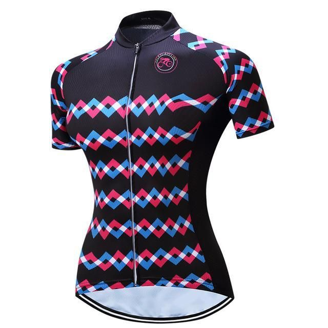 Teleyi Women Summer Racing Sport Bike Shirt Mtb Bicycle Clothes Breathable  Cycling Clothing Ropa eec9bca67