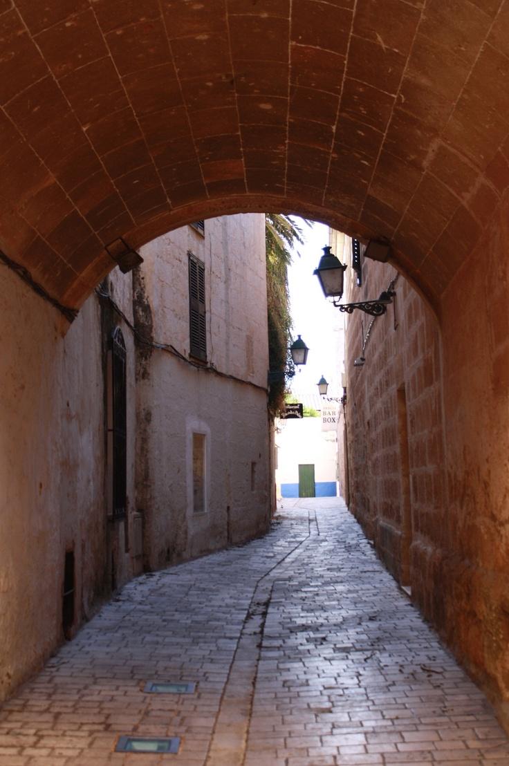 Carrer del Palau. Ciutadella. Menorca