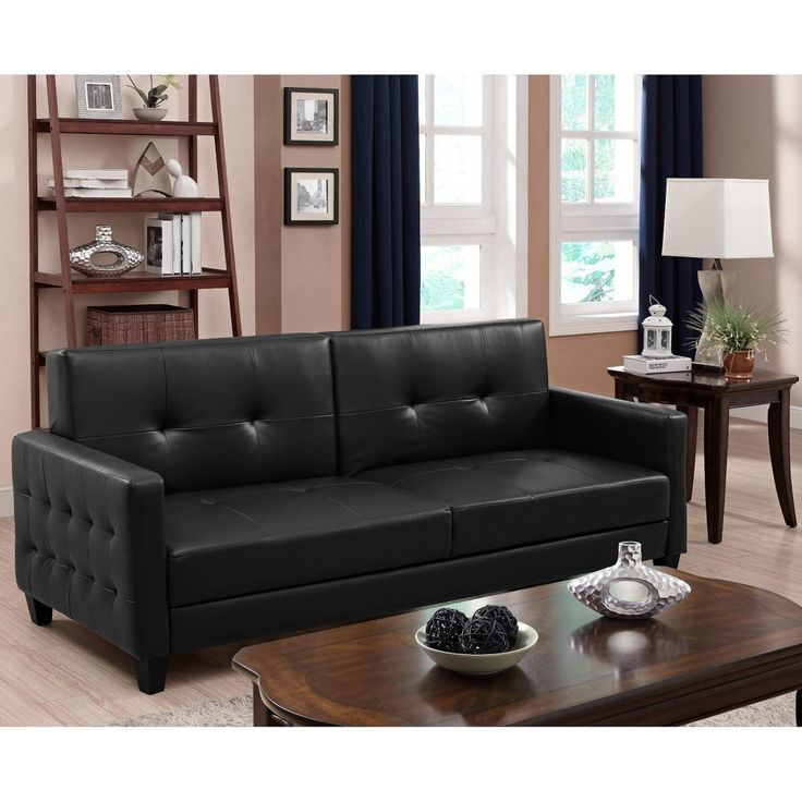 Rome Faux Leather Sofa Bed