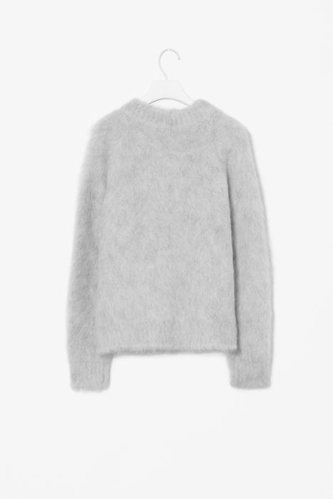 cos made me spend a lots of money today on a beautiful mohair sweater. it better be cold soon!