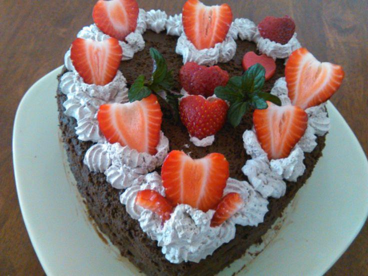 Andi lányom névnapi tortája
