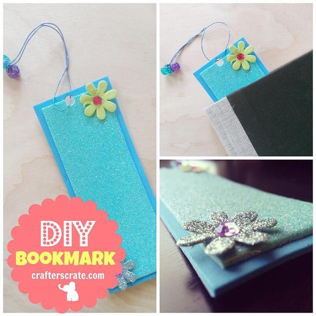 Diy Book Marks: Diy Bookmarks, Girl Craft And Craft Kits On Pinterest
