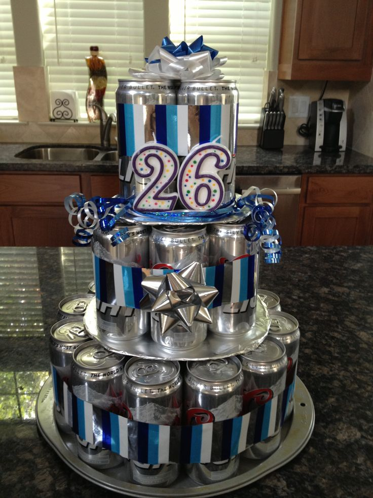 Beer Can Cake that I made