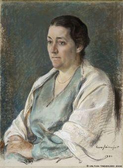 Ester Sihtola By Eero Järnefelt ,1934