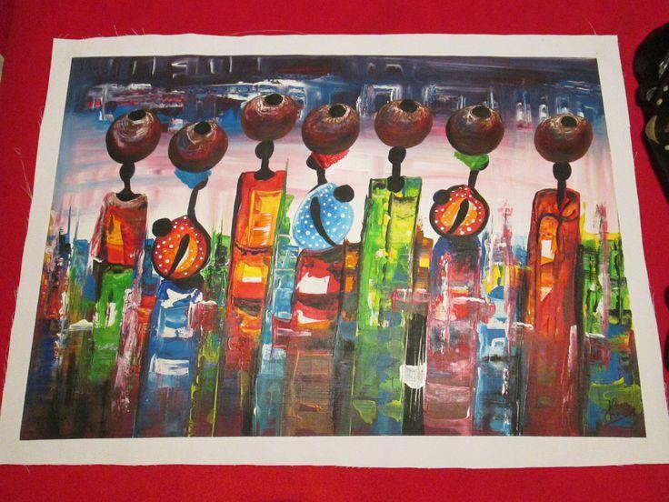 Acrylic painting # 1