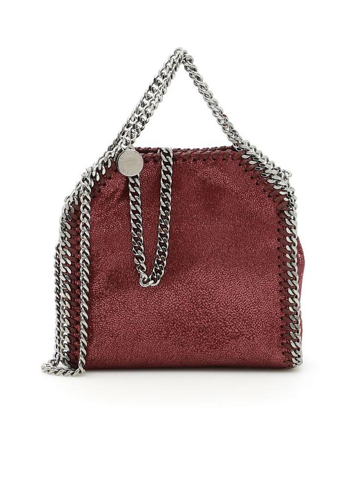 STELLA MCCARTNEY . #stellamccartney #bags #tote #leather #lining #metallic #shoulder bags #hand bags #
