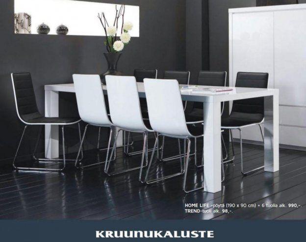 4 kpl ruokapöydän tuolit Kruunukaluste Trend