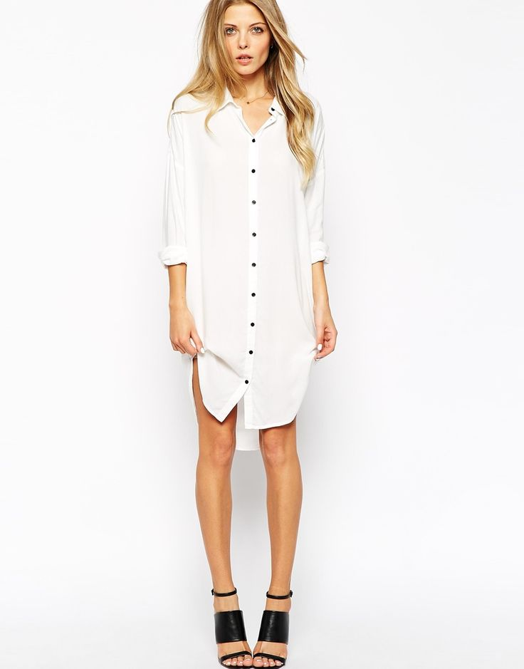 Okay I'm sick of winter, can it be spring now? ASOS shirt dress $60