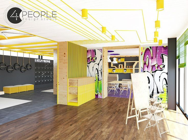 "Дизайн-проект Арт-площадки   Дизайн-студия ""4people"""
