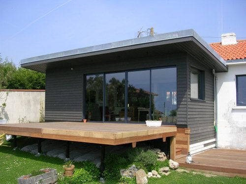 1000 ideas about terrasse sur pilotis on pinterest for Plan de maison sur pilotis