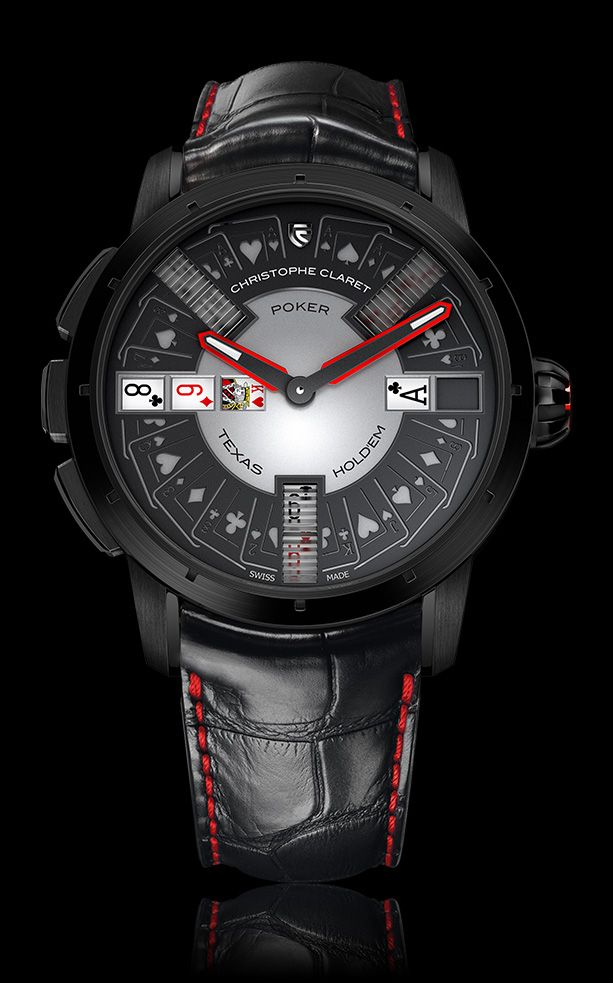 POKER   Gaming Watches   Christophe Claret   REFERENCE : MTR.PCK05.061-080