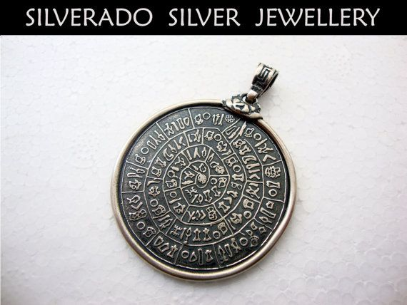 Sterling Silver 925 Ancient Greek Key Minoan by SilveradoJewellery, €70.00