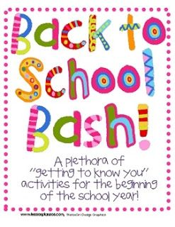 Swimming Into Second: Back to School Bash