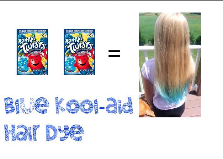 Peekaboo Hair Dye Tutorial