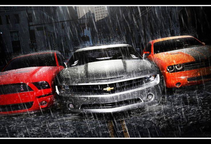 The Battle Of America Who You Got Mustang Vs Camaro Vs