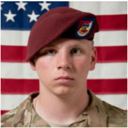 Army Pfc. Dustin D. Gross, 19, of Jeffersonville, Kentucky. Died May 7, 2012, serving during Operation Enduring Freedom. Assigned to 3rd Squadron, 73rd Cavalry Regiment, 1st Brigade Combat Team, 82nd Airborne Division, Fort Bragg, North Carolina. Died in Ghazni Province, Afghanistan, of wounds suffered when enemy forces attacked his unit with an improvised explosive device.