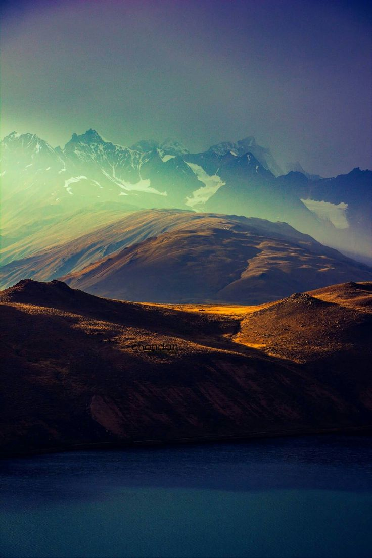 The last ligt at Chandertaal, Spiti.Himachal Pradesh © Chandan Bhatiya  #ShimlaLife