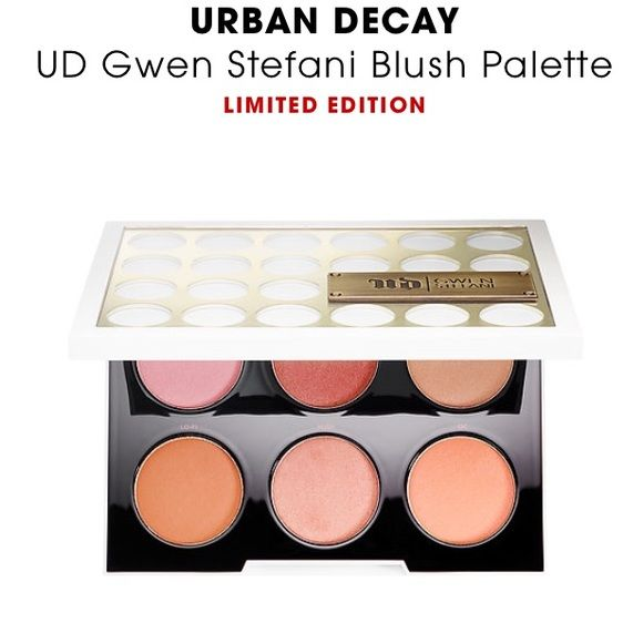 Urban decay blush pallet Blush pallet by urban decay collaboration with Gwen. Brand new not used sold out at ulta ...limited edition Urban Decay Makeup Blush