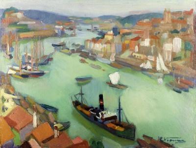 Eduardo Viana - Visto do Porto