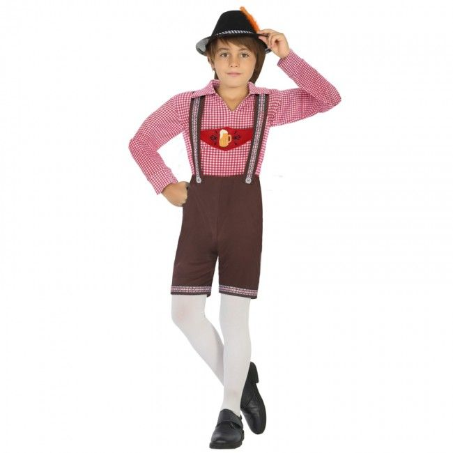Disfraz de Alemán Oktoberfest para niño #disfraces #carnaval #novedades2017