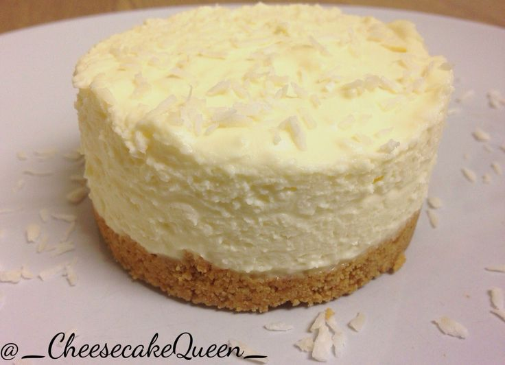 Cheesecake Queen Cheesecakes!  Digestive biscuit base with coconut cheesecake and grated coconut!  http://instagram.com/_cheesecakequeen_/