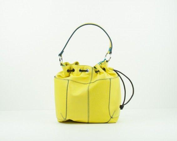 Bolso saco amarillo Gabs