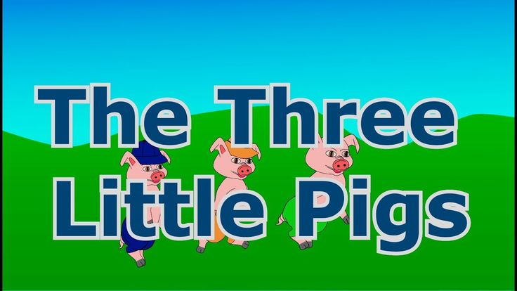 The Three Little Pigs - Animated fairy tale for toddlers and children - bedtime stories for kids
