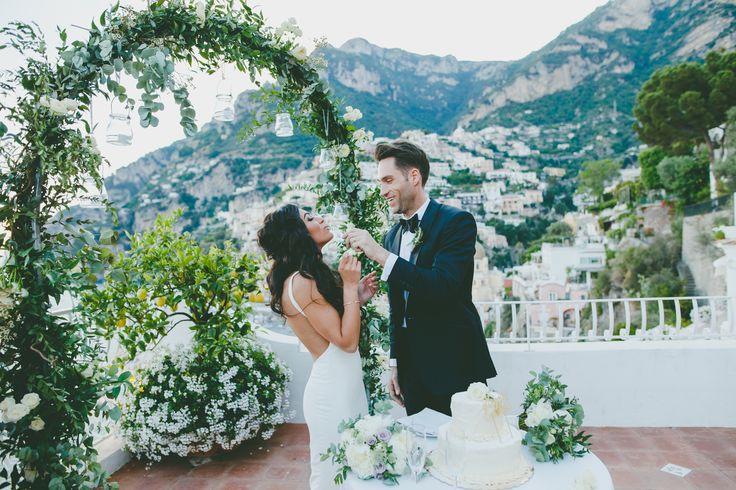 Wedding cake Marincanto wedding ceremony - elopement Positano photographer