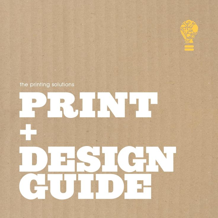 Printing Solutions – The Print + Design Guide  Printing Solutions developed The Print + Design Guide – to help you, our clients become more familiar with our world. By reading this print guide, you will have the opportunity to view an exclusive guide to what we do everyday for our clients. You will learn some industry terms, the difference between paper types, various coatings, how specific colors can affect your printing, how to correctly setup your artwork and even some specific marketing…