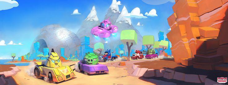 NinjasOnRooftops: Angry Birds Transformers